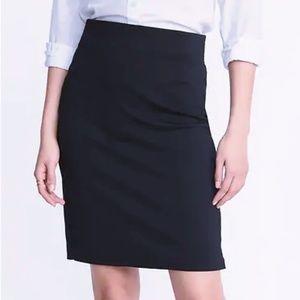 black Old Navy pencil skirt